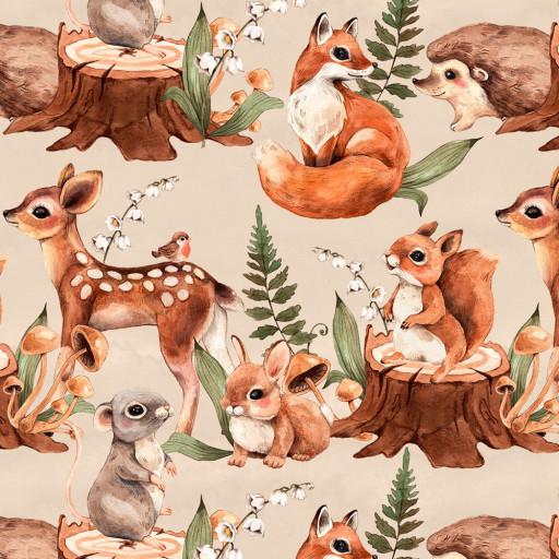 Konvalj, Bambi, Räv beige